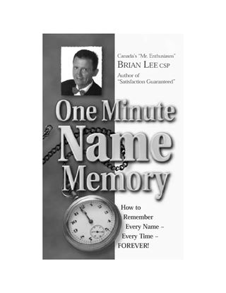 Picture of One Minute Name Memory