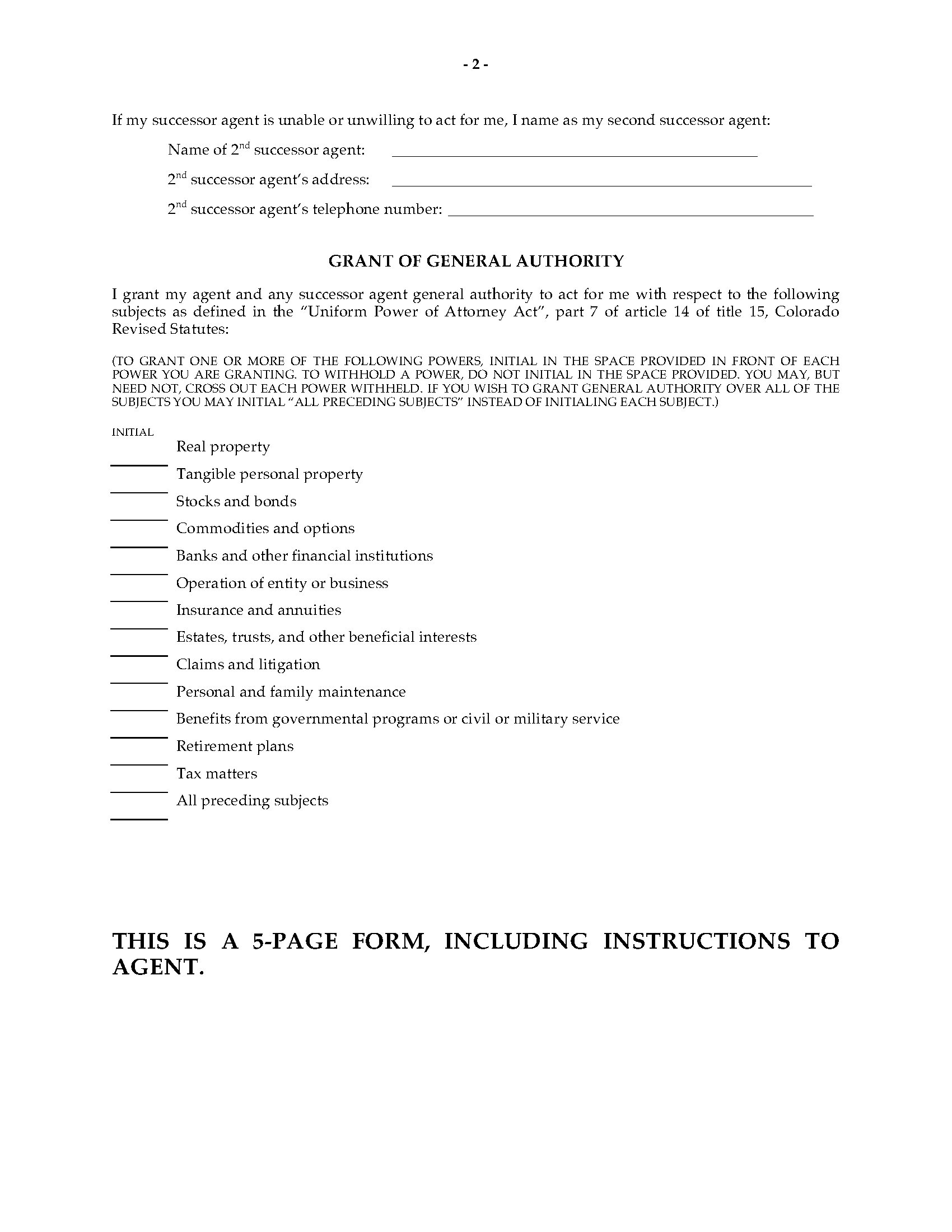 0003235_preview Ohio Uniform Statutory Form Power Of Attorney Act on