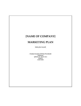 Picture of Accounting Firm Marketing Plan