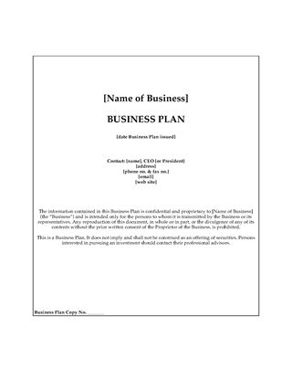 Picture of Bridal Salon Business Plan