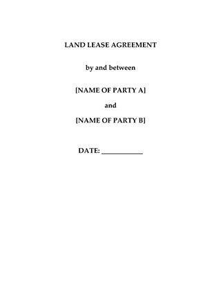 Picture of China Land Lease Agreement