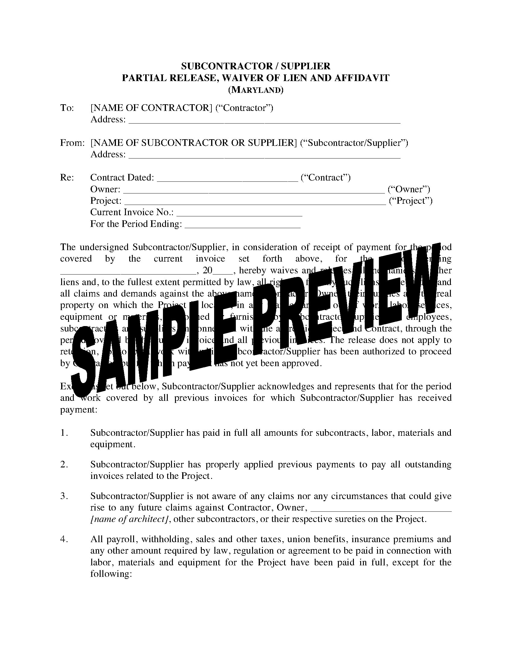 waiver forms templates
