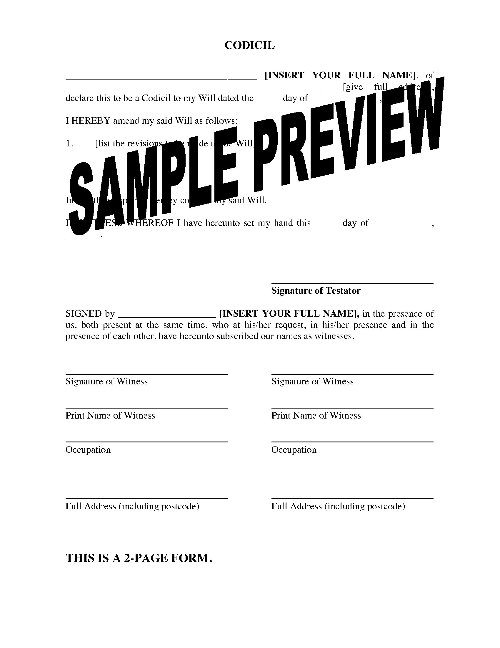 Missouri Form 14 Instructions