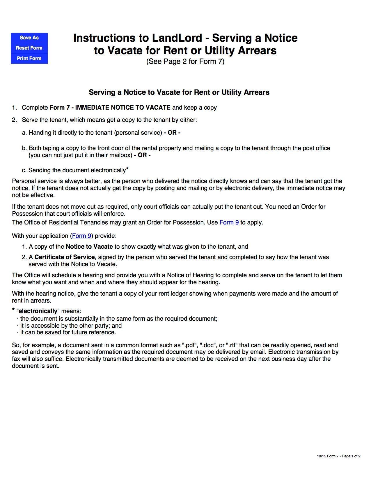 Notice Declaration 2072 Sk