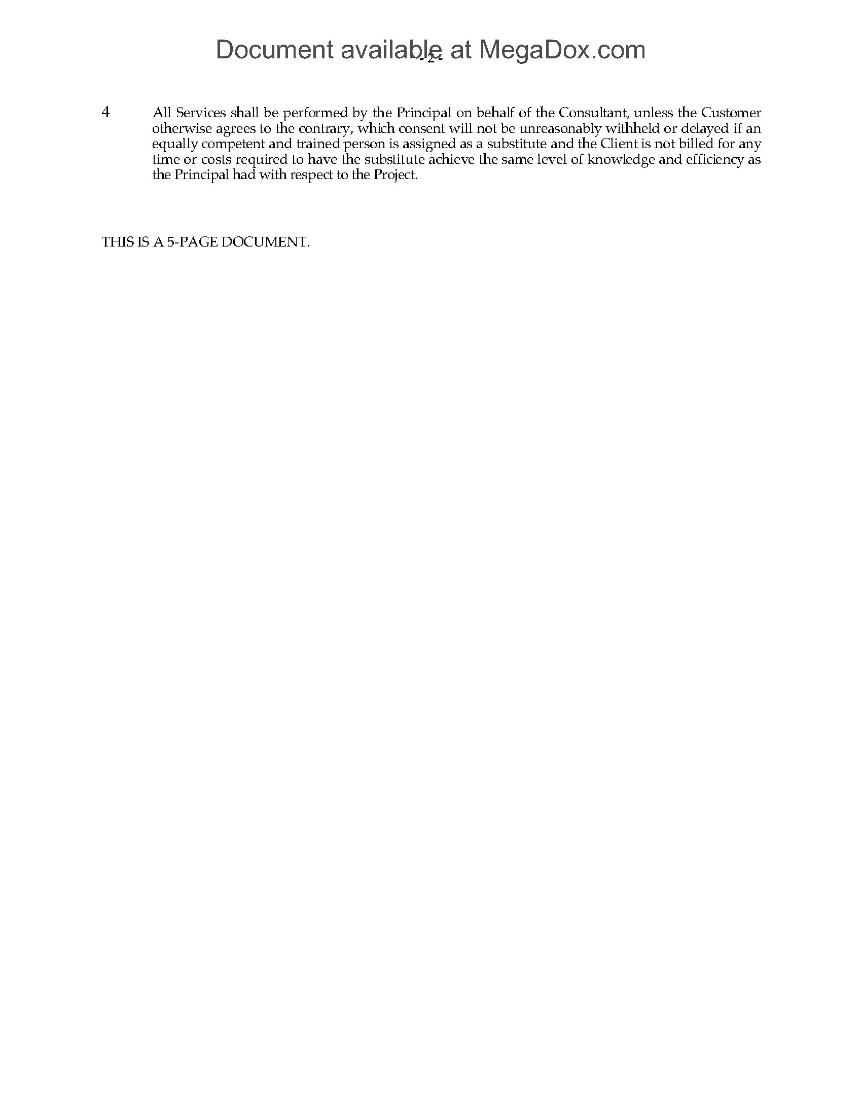 Consulting Agreement For Software Development Canada