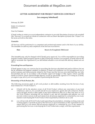 Picture of Consulting Services Agreement for Specific Project