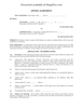 Picture of Stock Option Agreement (non-plan)   Canada