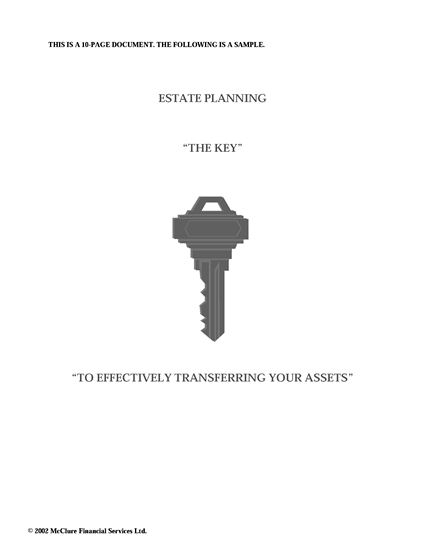 Picture of Estate Planning in Canada: The Key to Effectively Transferring Your Assets