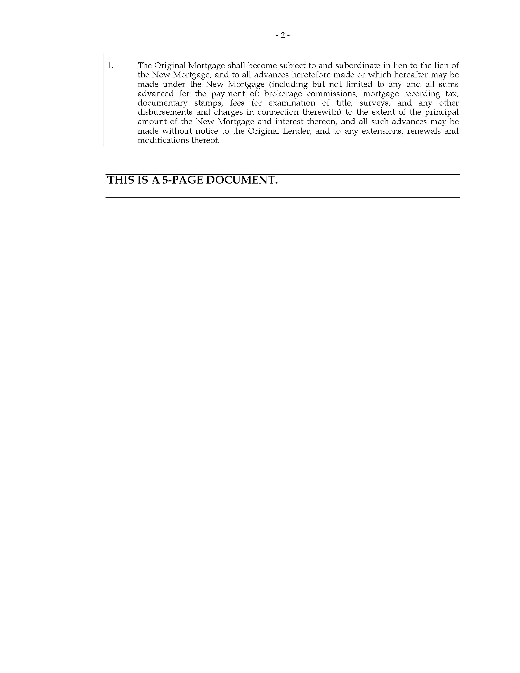 Subordination Agreement Definition Images Agreement Example Ideas Ucc Subordination  Agreement Image Collections Agreement Example Subordination Agreement