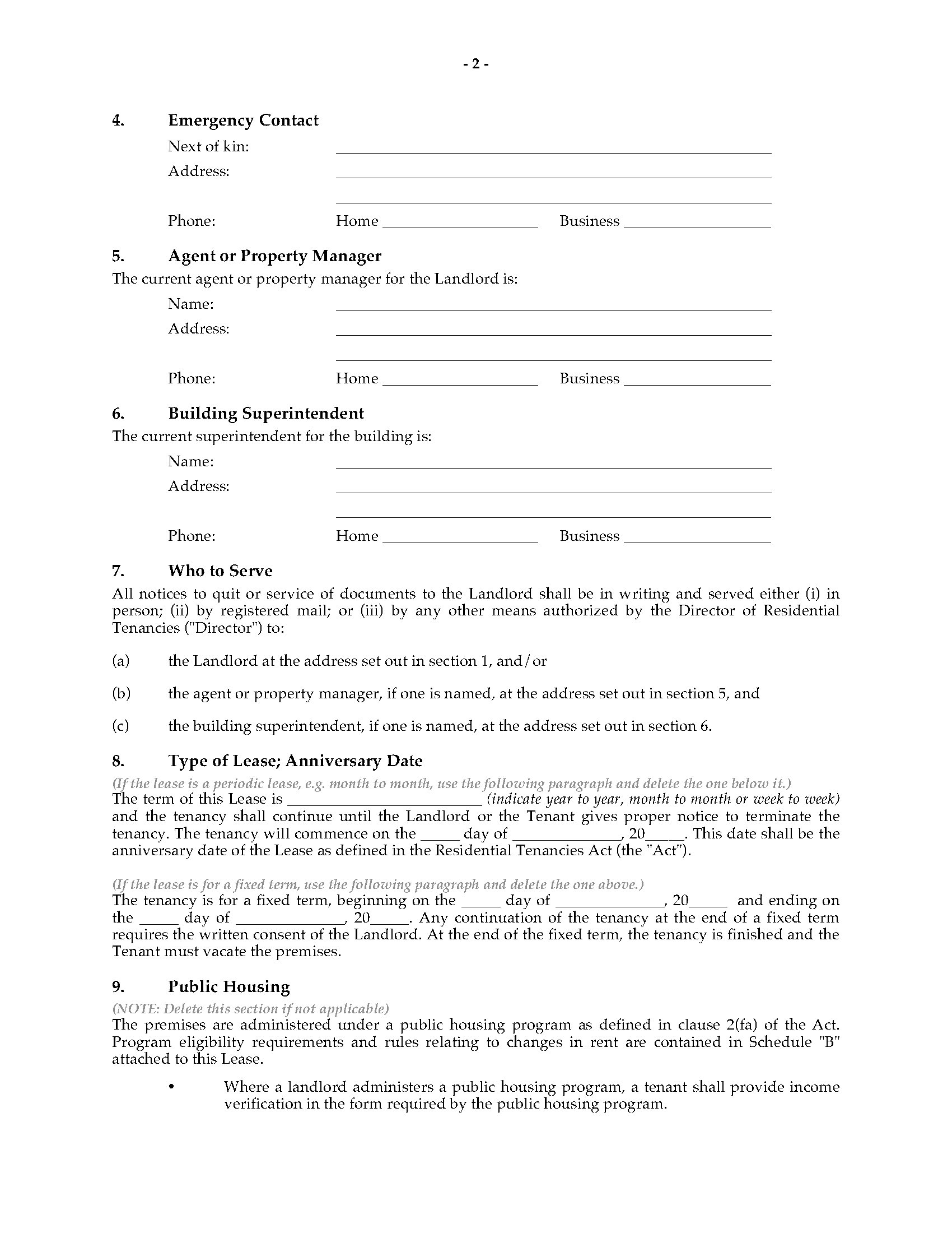 Nova scotia residential lease tenancy agreement legal forms and picture of nova scotia residential lease tenancy agreement platinumwayz