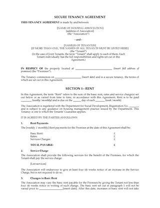 Uk Residential Tenancy Forms | Legal Forms And Business Templates