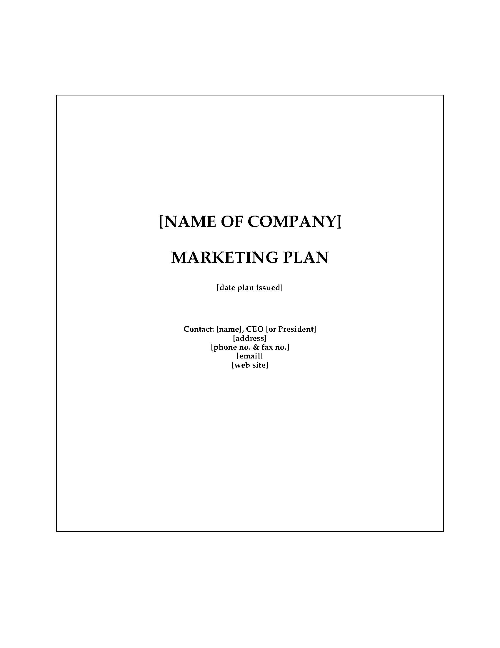 Accounting firm marketing plan legal forms and business templates picture of accounting firm marketing plan wajeb Choice Image