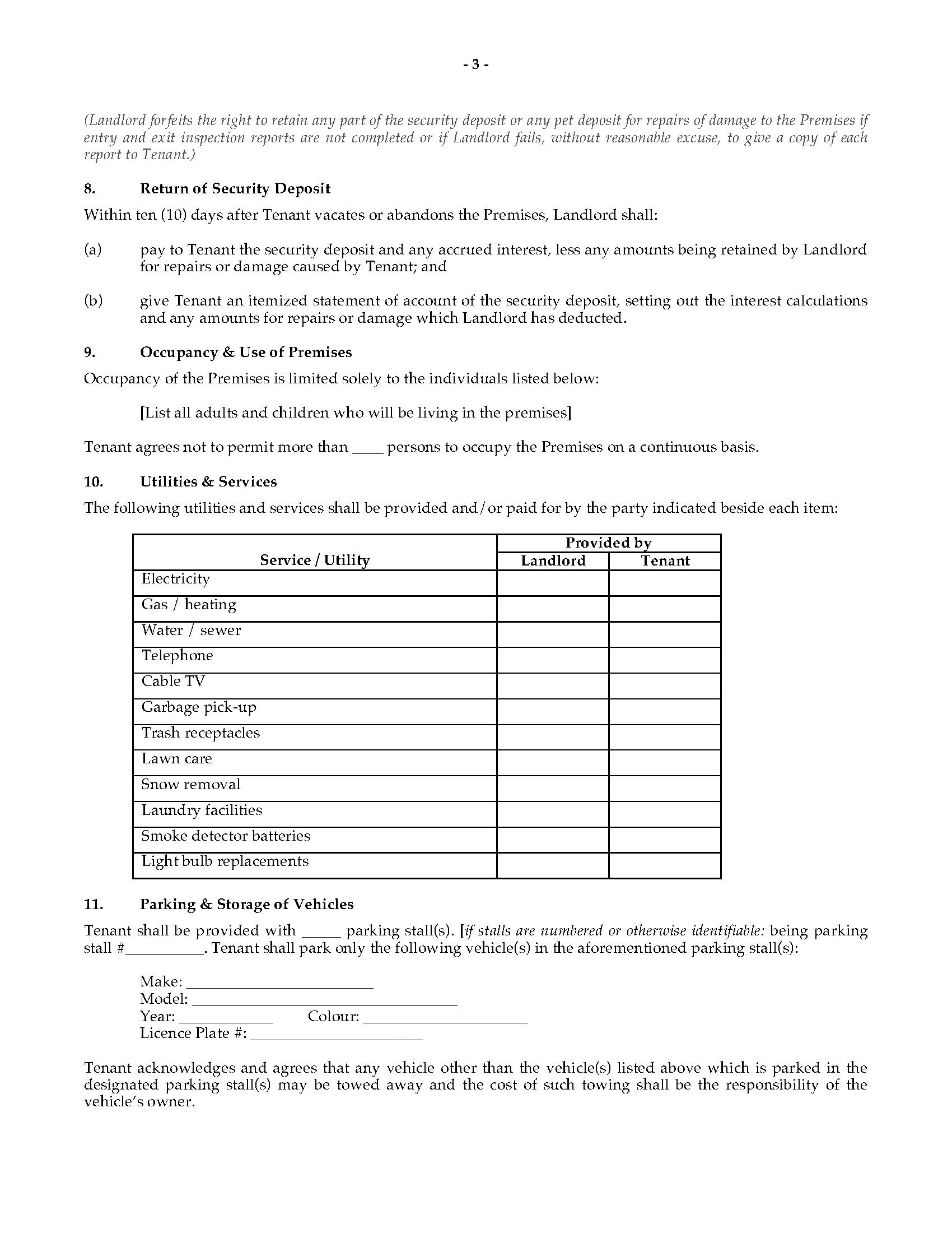 Nwt Residential Tenancy Agreement Legal Forms And