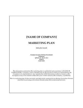 Picture of Catering Marketing Plan