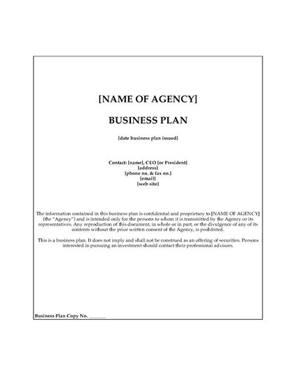 Picture of Modeling Agency Business Plan