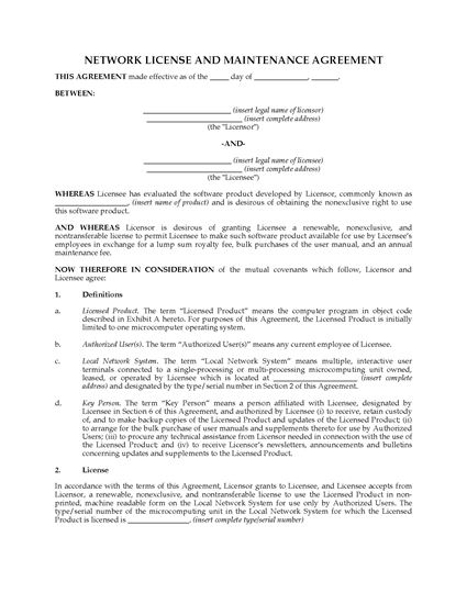 Picture of Network Software License | Canada