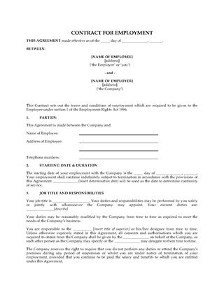UK Working Time Regulations Opt-Out Agreement | Legal Forms and ...