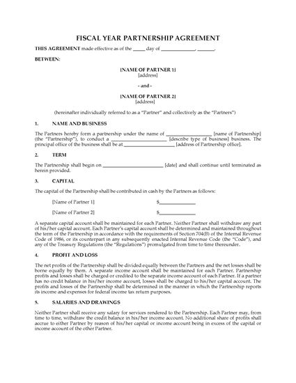 Picture of USA Fiscal Year Partnership Agreement