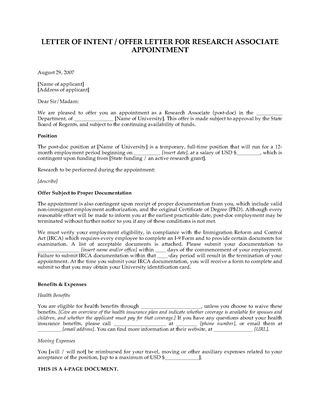 Picture of Offer for Research Associate Position | USA