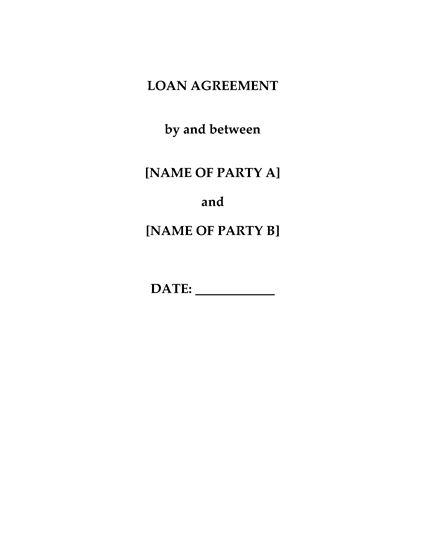 Picture of China Loan Agreement
