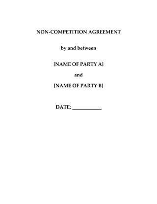 Picture of China Non-Competition Agreement