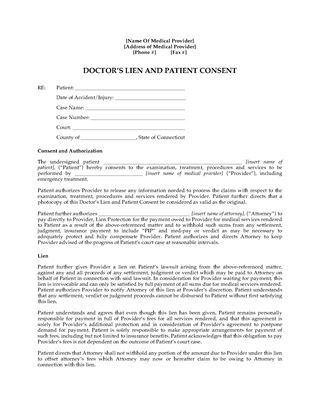 Health Services Forms | Legal Forms and Business Templates ...