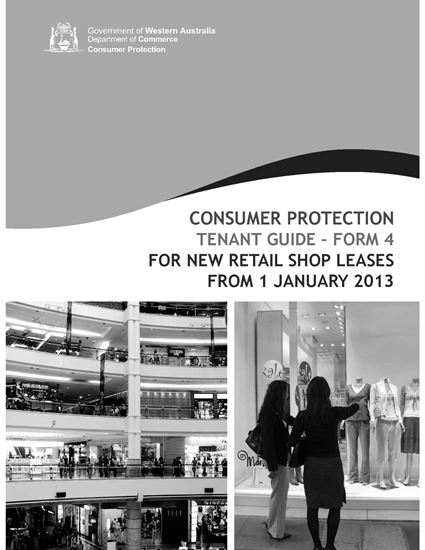 Picture of Western Australia Retail Shop Tenant Guide