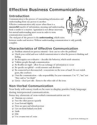Picture of Effective Business Communications and Conflict Management