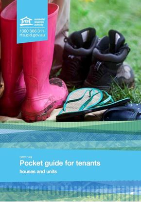 Picture of Queensland Pocket Guide for Tenants