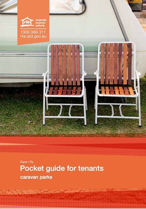 queensland pocket guide tenants caravan parks