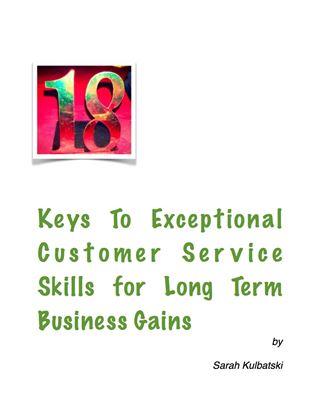 Customer service skills guide